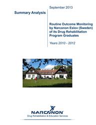 Narconon Eslov Outcome Monitoring