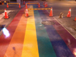 Rainbow Crosswalks installed in Toronto in time for WorldPride 2014