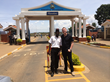 Jonathan Lake, COO of Apploi, at Kenyatta U Entrance