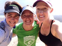 Women's trail running in Chattanooga