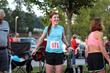 Women's trail summit running