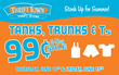 Thrift Town's $0.99 Two-Day Tanks, Trunks, and T-shirt Sale