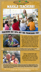 Maui Wowi Says Mahalo to Teachers!