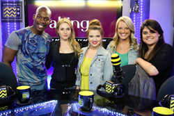 MTV's Faking It Stars Katie Stevens & Rita Volk on Maria Menounos' AfterBuzz TV Network