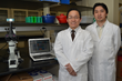 Dr. Ren-He Xu (left) and Dr. Xiaofang Wang (Right) works in lab of ImStem.