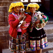 Quechua girls, Cusco