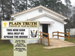 Plain Truth Church Crowdfunding for New Message Sign