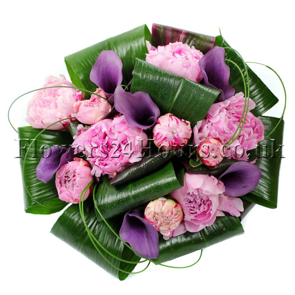 New Peony Bouquets From Flowers24hours Flower Delivery Shop