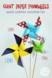 Giant Paper Pinwheels Have Been Released On Kids Activities Blog