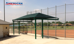 Sachse Baseball Association - Commercial Shade Structure - American Parks Company