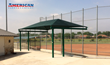 Sachse Baseball Association Upgrades Ballpark With Commercial Shade Structures From American Parks Company