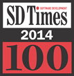 Stackify SD TImes top 100 2014
