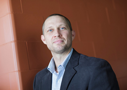Travis Berger, assistant professor of business at Alvernia University