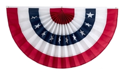 Fourth of July Pleated Fans from INDEPENDENCE BUNTING