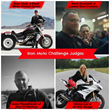 Meet the Iron Moto Challenge judges.