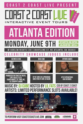 Coast 2 Coast LIVE Comes To Atlanta, Georgia June 9, 2014!