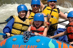 Whitewater Rafting Colorado - The Adventure Company - Dad Kids