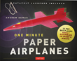 Popular Paper Airplane Designer and Author Andrew Dewar Releases New Paper Craft Kit, One Minute Paper Airplanes