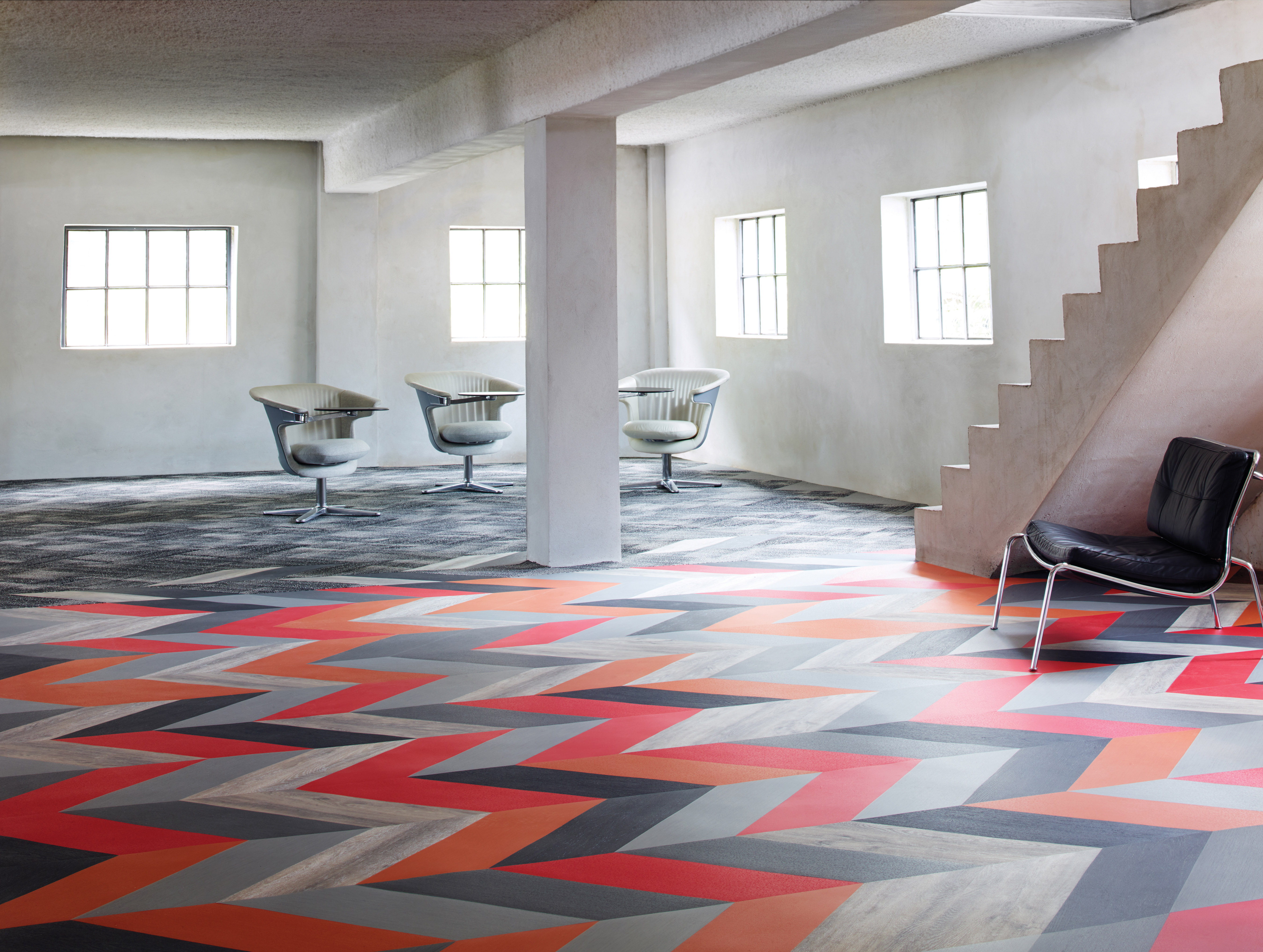 Patcraft S Mixed Materials Collection Provides