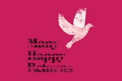 The 'Many Happy Returns' logo and slogan