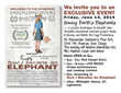 How I Became an Elephant screening fundraiser