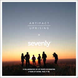 """Sevenly """"Celebrating 3 Years Of Giving"""" Free Gift All Week"""
