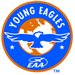 EAA Young Eagles program logo (logo trademarked by Experimental Aircraft Association).