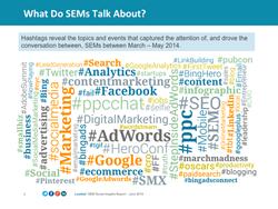 SEM Hashtags