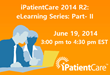 iPatientCare Announces a Session on Newly Introduced Features of...