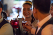 Shangai's bartending community learns about the cranberry's versatility