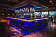 Main bar at Topgolf at Riverwalk
