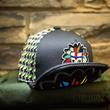 WT150K COLURFUL INDIAN MASK KIDS SHORT VISOR HATS