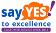 2014 Customer Service Week logo