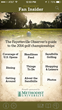 Pinehurst Fan Insider Mobile App Guides U.S. Open Championship...
