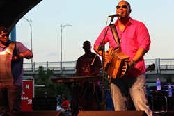 A photo of musician Chris Ardoin