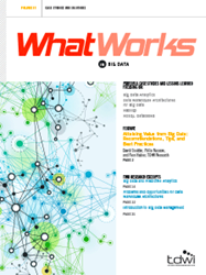 What Works in Big Data issue cover