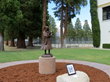 Alice Piper Statue Unveiled at Big Pine Schools