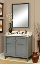 "Harper 36"" Bathroom Wood Vanity Cabinet HP3621D"