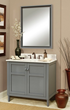 HomeThangs.com Has Introduced A Guide To Gray Bathroom Vanities