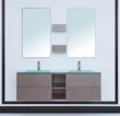 "Stufurhome 60"" Avaya Double Sink Vanity VM-18184"