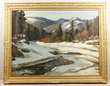 "A. T. Hibbard, ""Down Stream,"" Oil on Canvas"