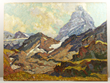 Paul Dougherty, Mountain Landscape, Oil on Canvas