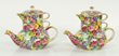 "Royal Winton ""Julia"" Teapots"