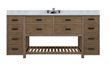 "Sagehill Designs Toby 72"" Modular Bathroom Vanity with Drawers , TB7221D2"