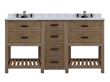 "Sagehill Designs Toby 60"" Modular Double Bathroom Vanity with Drawers, TB6021D1"