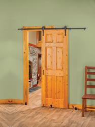 Wonderful New Rolling Barn Style Door Hardware Creates Stylish, Space Saving Interior  Door Options   Doors Glide Sideways, Keeping Walkways Open