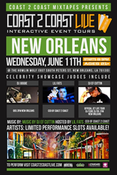 Coast 2 Coast LIVE Comes To New Orleans, Louisiana June 11, 2014