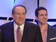 Governor Mike Huckabee and Billy Cuthrell, last week on Capitol Hill in D.C.