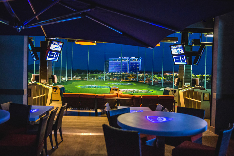 BRIDGEVILLE, Pa. - Pennsylvania's first Topgolf location will open in the Pittsburgh area Friday. The three-level, 65,square-foot venue will open its doors on Presto-Sygan Road in.