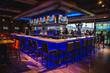 Main bar at Topgolf